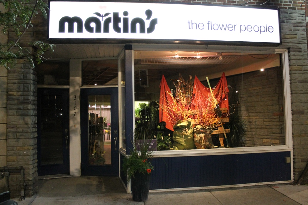 Window Display Archives Martins The Flower People