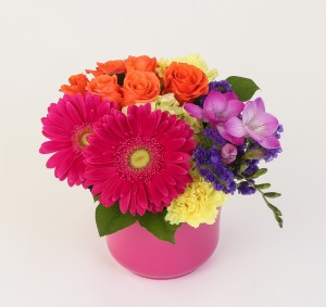 Bright happy arrangement