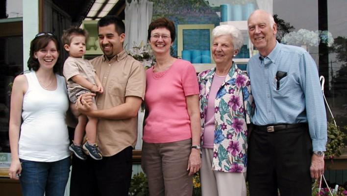Martin Family Four Generations