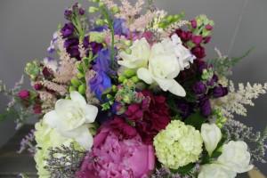 Peonies, Roses, Hydrangea Bouquet
