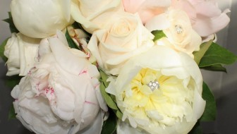 Bride's Bouquet with Peonies