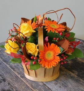 Autumn Sunshine Thanksgiving Centrepiece