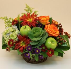 Natures Harvest Thanksgiving Centrepiece