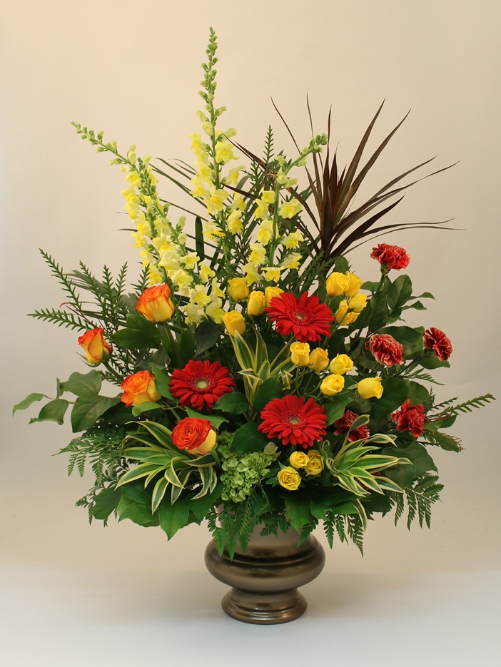 Flower Arrangements Created By Martins The People For Funeral Homes Or Residences