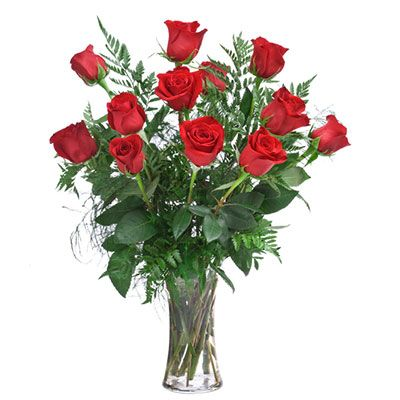 Long Stemmed Roses Arranged