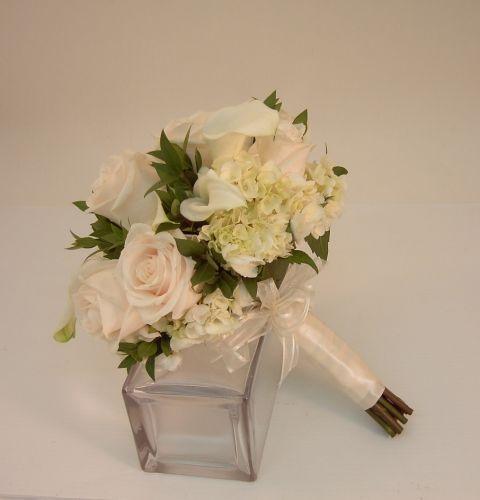 Cream Calla Bouquet