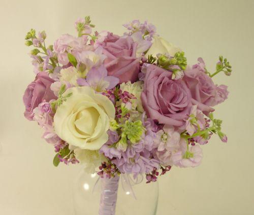 Lavender and Cream Bouquet