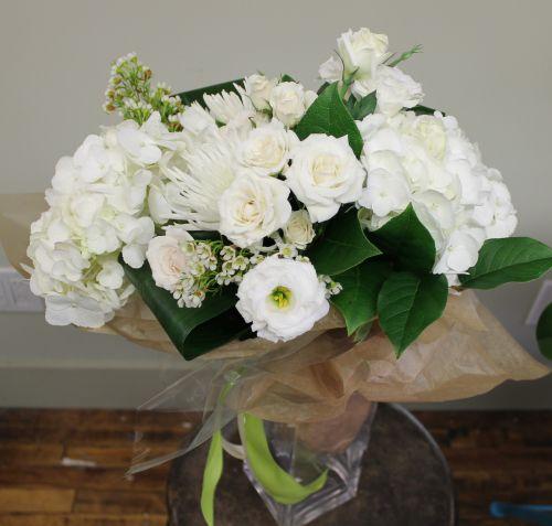 White Seasonal Bouquet