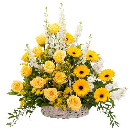 Ray of Sunshine Basket Tribute