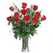 Long Stemmed Roses Arranged