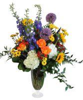 Summer Garden Vase